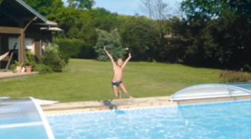 De bescherming van mijn zwembad