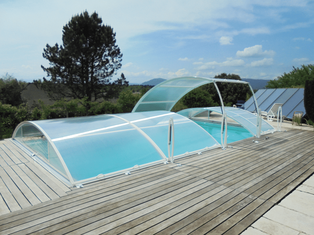 wegneembare zwembadoverkapping primo romaans klassiek. Black Bedroom Furniture Sets. Home Design Ideas